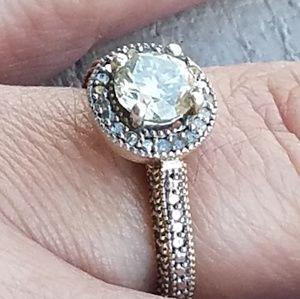 Jewelry - Genuine Moissanite Ring